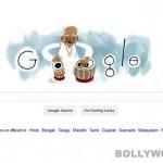 Goggle doodle salutes Ustad Alla Rakha!