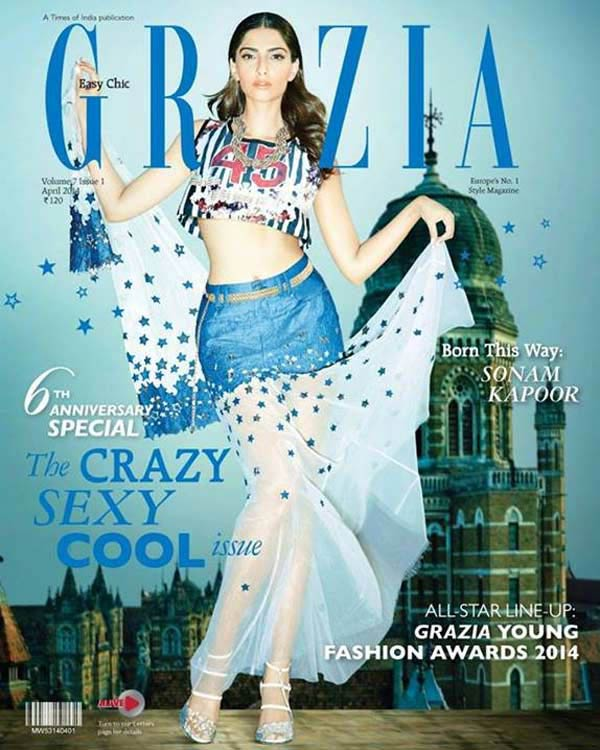 Is Sonam Kapoor the most stylish covergirl?