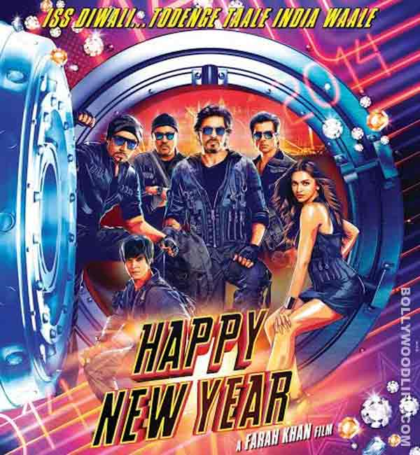 Shahrukh Khan and Deepika Padukone starrer Happy New Year completes month-long night shoot