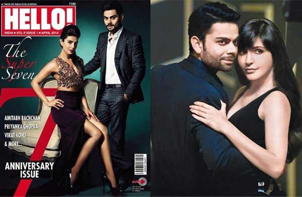 Priyanka Chopra or Anushka Sharma: Who looks hotter with Virat Kohli?
