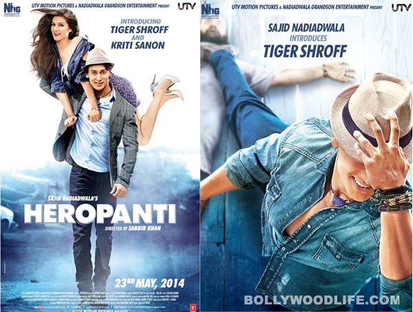 Heropanti posters: What are Tiger Shroff and Kriti Sanon upto?