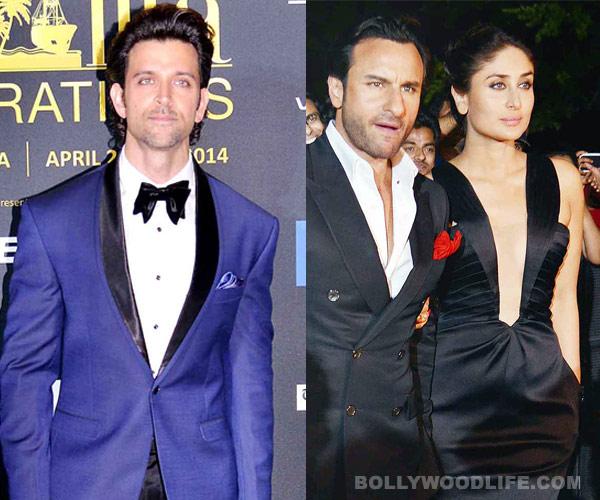 Hrithik Roshan ignores Kareena Kapoor and Saif Ali Khan in Florida!