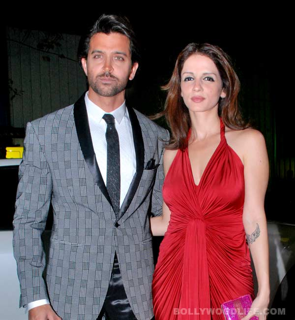 Hrithik Roshan and Sussanne Roshan split official - file for divorce!