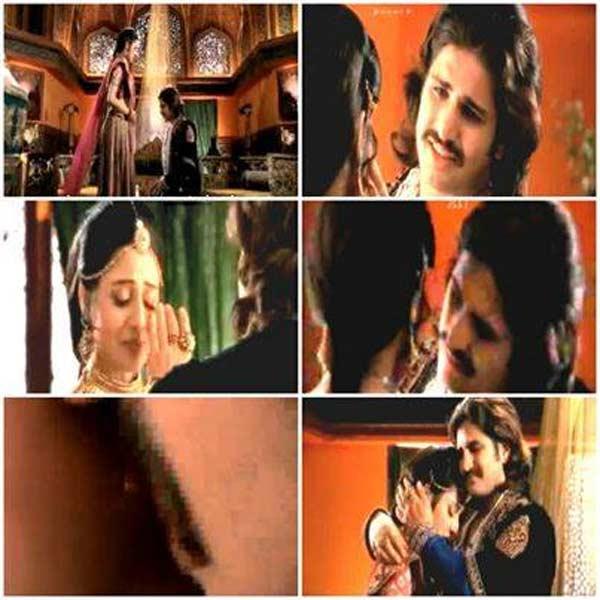 Jodha Akbar: Rajat Tokas and Paridhi Sharma's kiss not real!