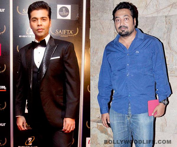 Karan Johar: Neither did Anurag Kashyap yell at me, nor did he chop my role!