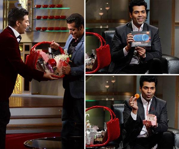 What did Salman Khan, Alia Bhatt and Priyanka Chopra take home in the Koffee hamper? Find out!