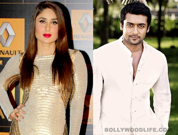 Kareena Kapoor Khan works in southern remakes, but doesn't know superstar Suriya!