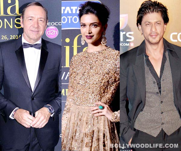 Deepika Padukone finds Kevin Spacey more graceful in a lungi than Shahrukh Khan!