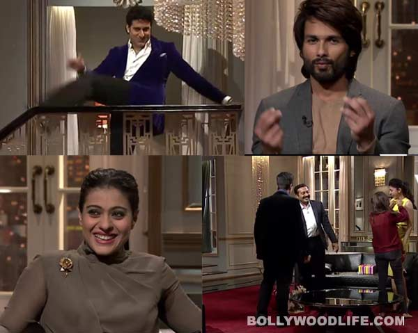 Koffee with Karan 4 bloopers: Kajol, Shahid Kapoor and Arjun Kapoor at their candid best - Watch video!