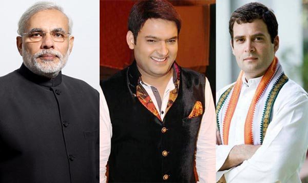 Kapil Sharma not as funny as politician Rahul Gandhi, says Narendra Modi