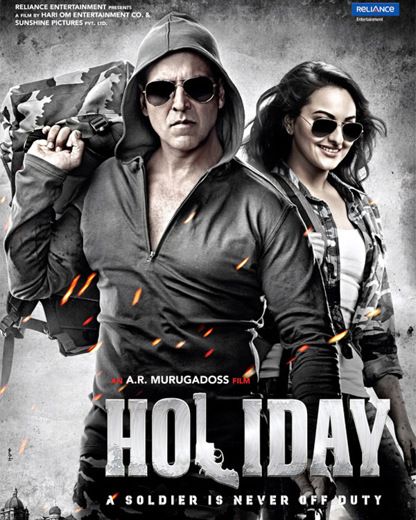 Holiday new posters: Does Akshay Kumar and Sonakshi Sinha's pairing look any different?