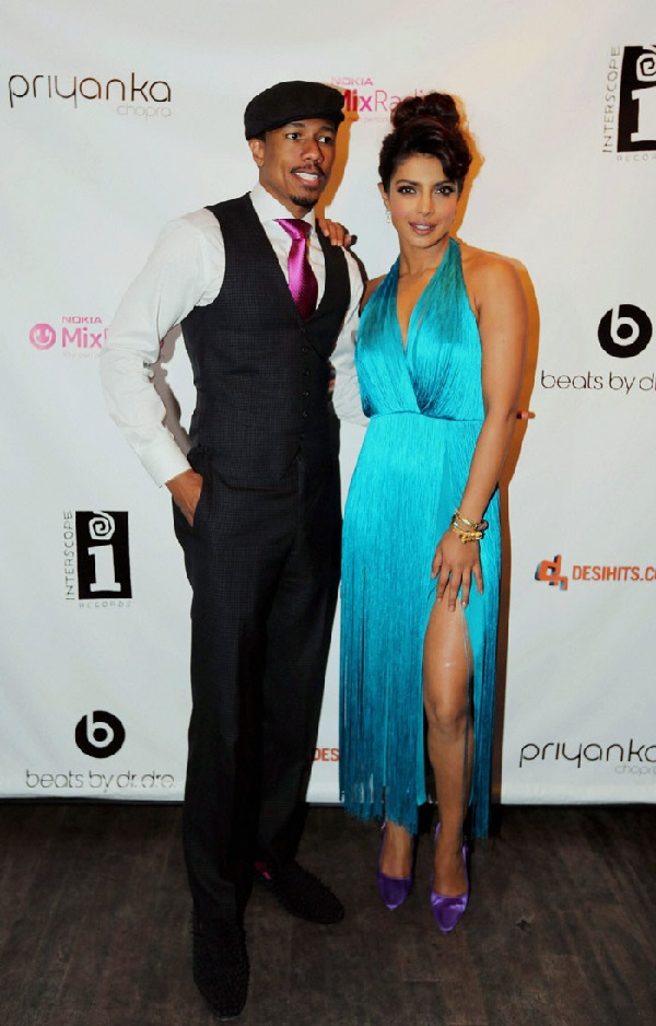 Priyanka Chopra supported by her rapper friend Nick Cannon in New York?