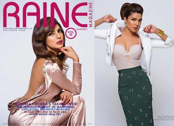 Priyanka Chopra's photoshoot for Raine: Sexy as always!