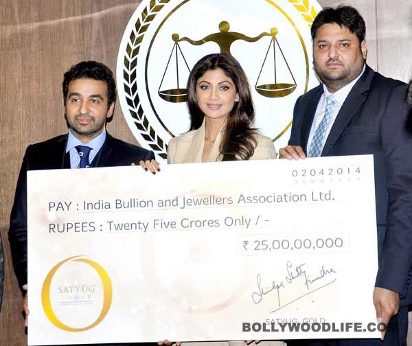 Shilpa Shetty and Raj Kundra launch jewellery line!