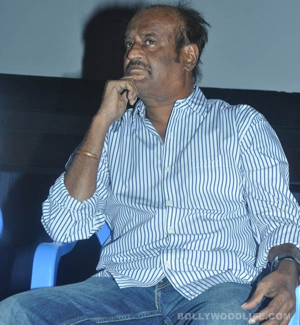 Rajinikanth scared of...? Find out!