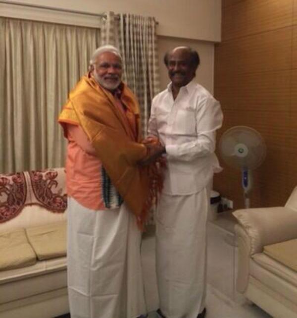 After Salman Khan, Rajinikanth meets Narendra Modi