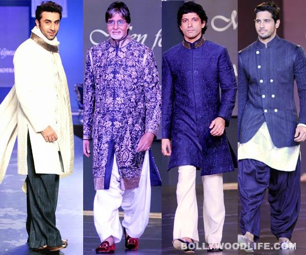 Amitabh Bachchan, Sidharth Malhotra and Ranbir Kapoor set the ramp on fire!