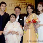 Master Deenanath Mangeshkar Awards: Ranbir Kapoor and Neetu Singh cheer for Rishi Kapoor!