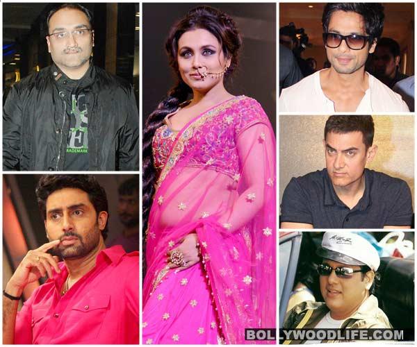 Aditya Chopra, Abhishek Bachchan, Govinda - A look at Rani Mukerji's love life!