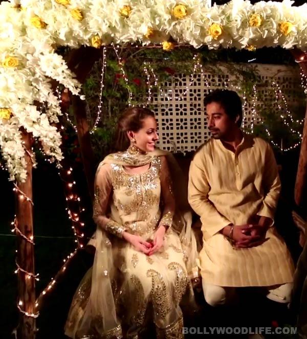Rannvijay Singh Singha and Priyanka Vohra's special roka ceremony - watch video!