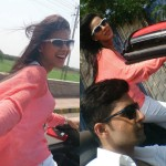 Ravi Dubey and Nia Sharma go for a long drive – View pics!