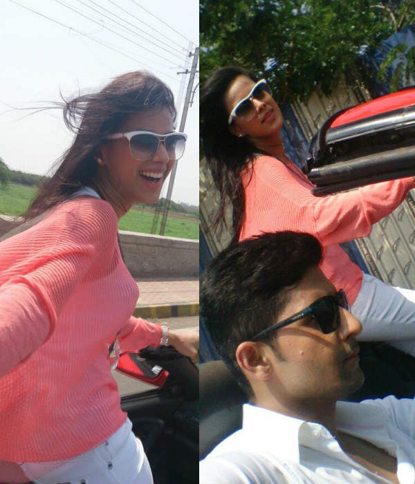 Ravi Dubey and Nia Sharma go for a long drive - View pics!
