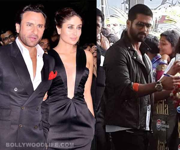 IIFA 2014: When Kareena Kapoor was stuck between ex-boyfriend Shahid Kapoor and husband Saif Ali Khan...