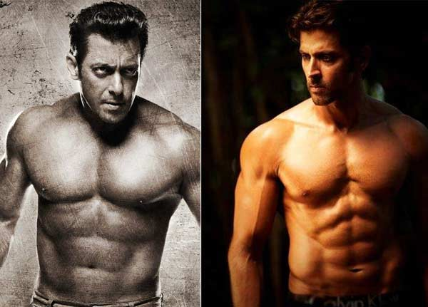 Salman Khan beats Hrithik Roshan to be voted Bollywood's fittest actor!