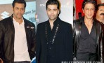 Salman Khan and Shahrukh Khan come together for Koffee with Karan 4 finale – Watch leaked video!
