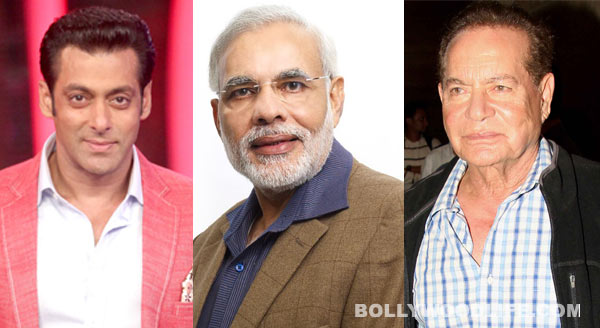 Salman Khan's father Salim Khan supports Narendra Modi, launches his Urdu website