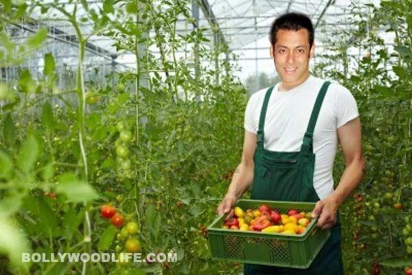 Salman Khan - Bollywood superstar turns a gardener!