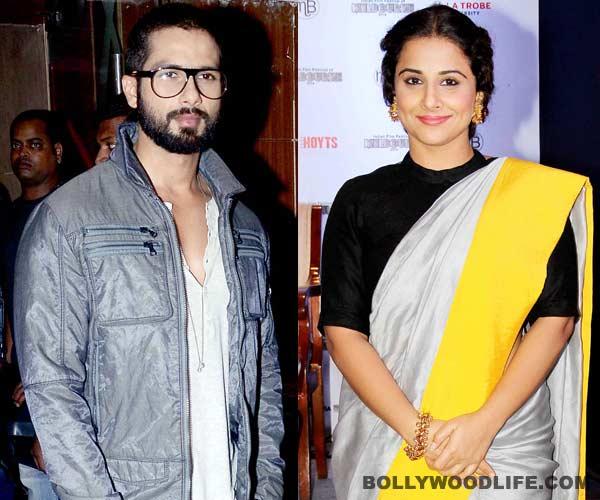 Ex lovers Shahid Kapoor and Vidya Balan to become neighbours!