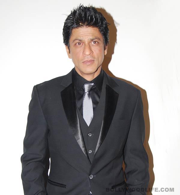 Shahrukh Khan turns a babysitter!
