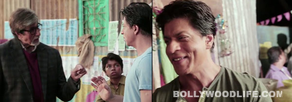 What does Shahrukh Khan think of Amitabh Bachchan's Bhoothnath Returns? Watch video!