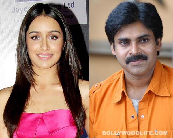Shraddha Kapoor to romance Pawan Kalyan in her Southern debut!