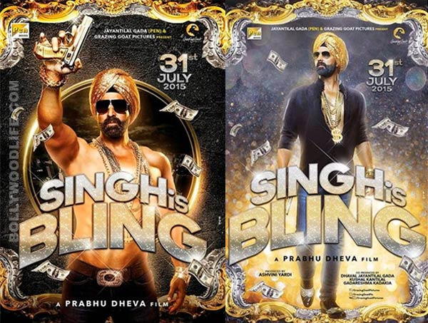 Singh Is Bling first poster: Akshay Kumar teams up with Prabhu Dheva for another Singh Is Kinng!