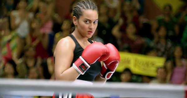 Who trained Sonakshi Sinha for her role in Holiday?