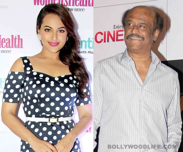 Sonakshi Sinha to romance Rajinikanth on screen after Deepika Padukone and Aishwarya Rai Bachchan