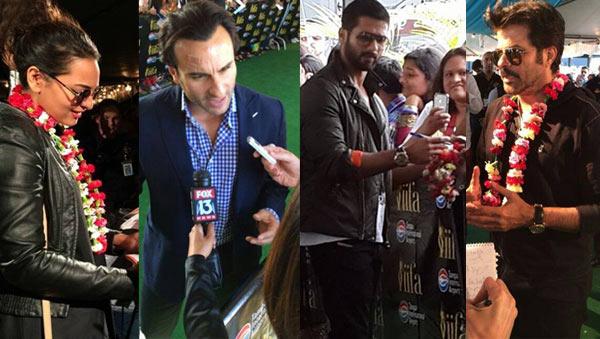 IIFA 2014: Shahid Kapoor, Sonakshi Sinha and Saif Ali Khan skip Lok Sabha elections, reach US on time for awards - View pics