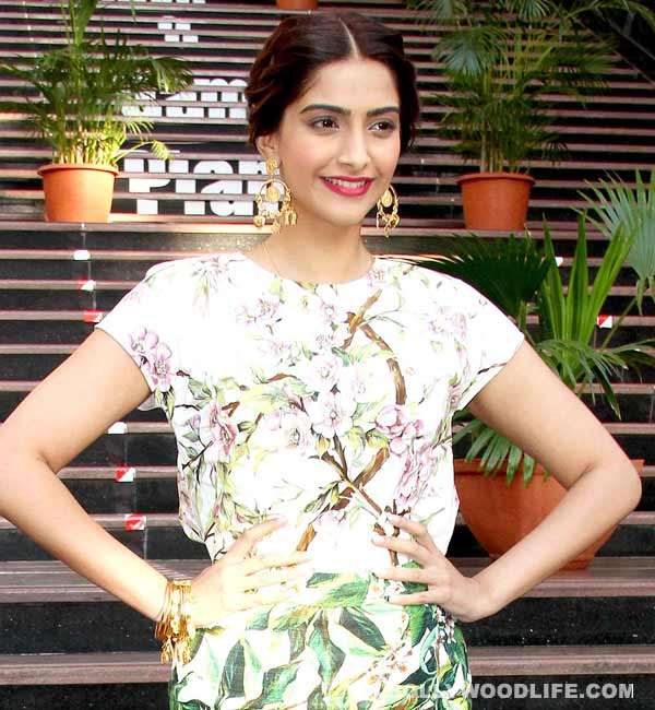 Sonam Kapoor: I don't think there's anything wrong in a no-pregnancy clause