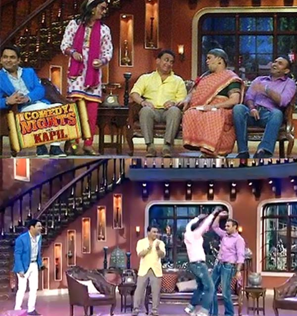 Comedy Nights with Kapil : Kapil Sharma gets bowled by Sunil Gavaskar and Virender Sehwag!