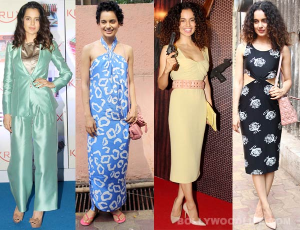 Is Kangana Ranaut the fashion Queen of B-town?