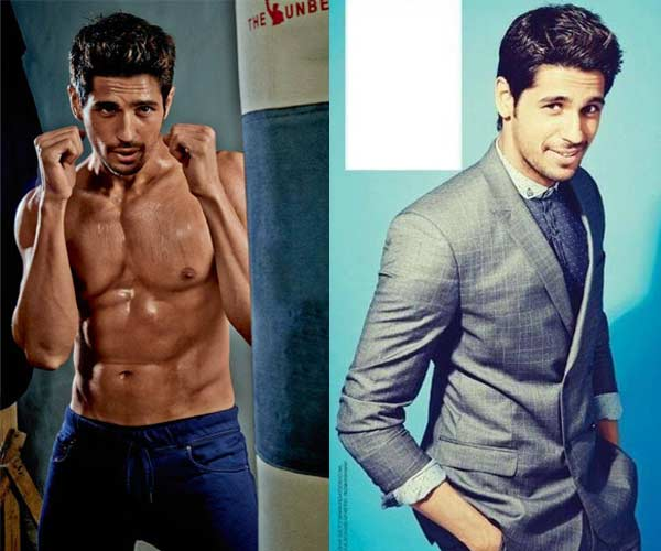 Sidharth Malhotra bare-chested or suited and booted: Which one do you prefer?