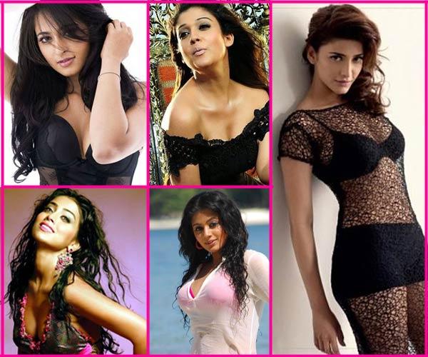 Shruti Haasan, Nayantara , Shriya Saran, Anushka Shetty and Priyamani: Who is the hottest South babe? Vote!