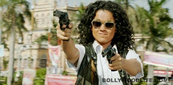 Kangana Ranaut is celebrating the success of Revolver Rani already!