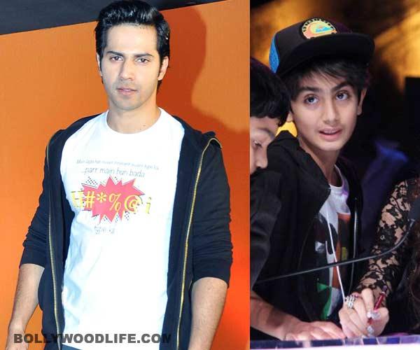 Varun Dhawan catches the fancy of Salman Khan's nephew Arhaan!