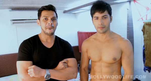 After Ranbir Kapoor, Varun Dhawan goes besharam – watch video!