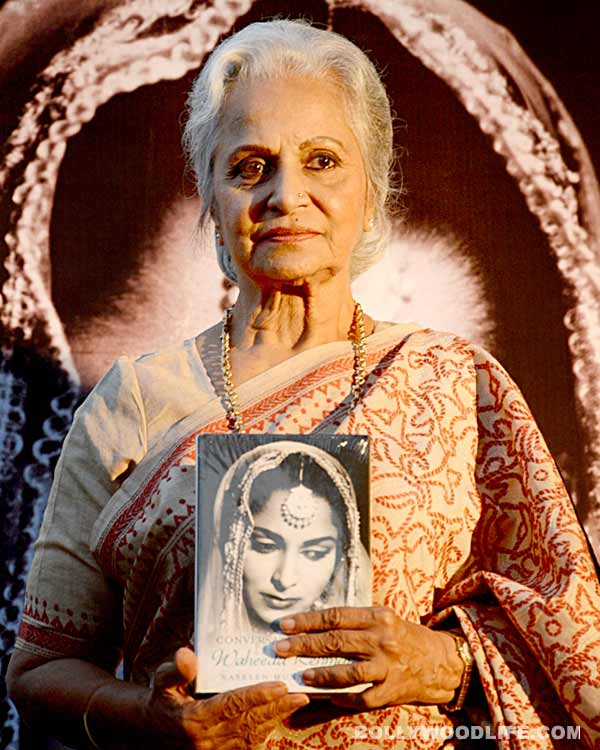 Waheeda Rehman: I am happy all women-centric movies are doing very well - like Highway and Queen