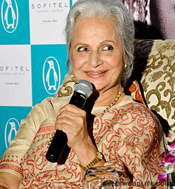 Waheeda Rehman: I am not fine with a film on my life's journey