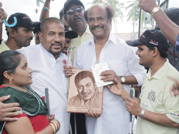 What was Rajinikanth's special treat on sets of Lingaa?